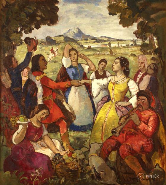 Iványi Grünwald Béla: Magyar tánc