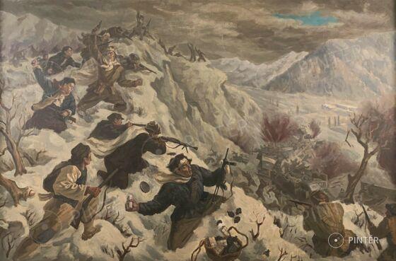 Kínai festő: Partizántámadás