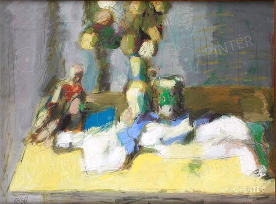 Júliusi online aukció, 2013 — Festmények