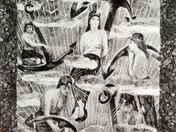 Jefte esküje; a szabadban. Edwin Long 1885-ben festett képe alap