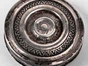Antik ezüst szelence