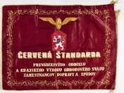 Ismeretlen: Csehszlovák vasúti zászló