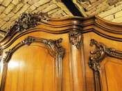 3ajtós bécsibarokk szekrény