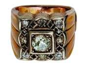 Gyűrű gyémántokkal
