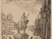 I. István szobra Budán