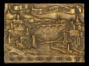 Budapest 1873-1973 bronzplakett
