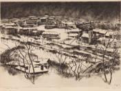 Budai vár télen