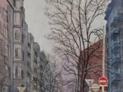 Pannónia utca télen