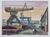 Mosshammer György: Újpesti hajógyár (8 db)