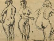 Női aktok, 1955