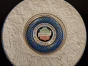 Zsolnay historicizing plate