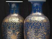 Kínai porcelán vázapár