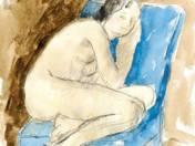 Fotelben ülő nő (1933)