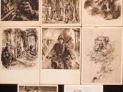 11 db háborús levelezőlap