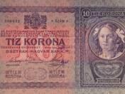 10 koronás szerb felülbélyegzéssel