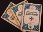 Belhagen & Klafings Monatshefte 1915-16 3 db