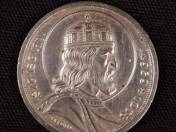 Silver 5 Pengo with St. Stephan, 1938