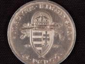 Berán Lajos: Ezüst ötpengős Szent Istvánnal, 1938