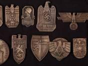 Német Birodalmi kópia kitűzők 11 db