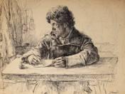 Letter writer soldier