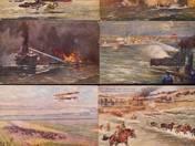 I. világháborús levelezőlapok 43 db