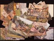 Postcards form the First World War (43 pcs)