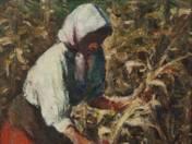 Kukoricásban (1917 körül)