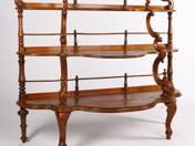 Louis Philippe stílusú etagere