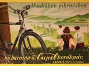 ...hű barátod a Csepel kerékpár