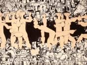 Gyulai várfürdő mozaikterve