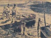 Úttörők a Balatonnál