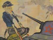 Propagandaplakát (Náci zombi)