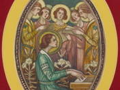 Saint Cecilia with the Choir of Angels