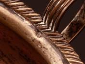 Bachruch ezüst kínáló tál