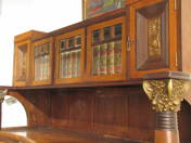 Cupboard in Secession style
