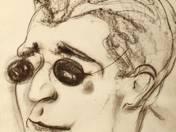 Férfi napszemüvegben
