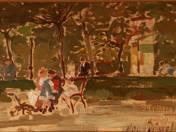 A Szabadság téren, 1920