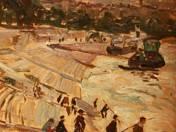 Horgászok a budai rakparton, 1924