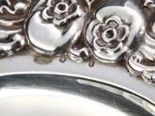Pesti ezüst tálca