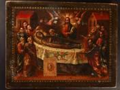 Orosz ikon - Istenszülő elszenderedése