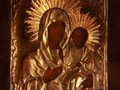 Ikon - Istenszülő Jézussal