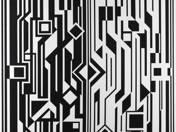 Fekete-fehér kompozíció II.