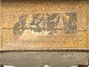 Rokokó stílusú festett asztal