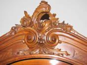 Three Door Armoire in Vienna Baroque style