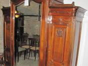 Bécsi barokk stílusú három ajtós szekrény (Bedő hagyaték)