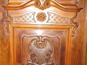 Bécsi barokk stílusú három ajtós szekrény