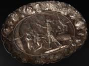 Nürnbergi ezüst tál