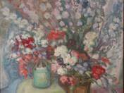 Virágcsendélet pipákkal