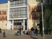 Konecsni György: Mezőkövesdi Általános Iskola épületdíszterve