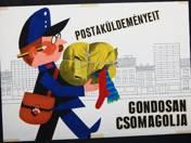 Postaküldeményeit gondosan csomagolja